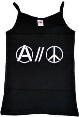 """Zum Trägershirt """"Anarchy and Peace"""" für 11,70 € gehen."""