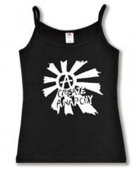 """Zum Top / Trägershirt """"Create Anarchy"""" für 12,00 € gehen."""