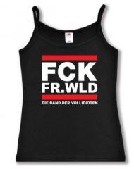 """Zum Top / Trägershirt """"FCK FR.WLD"""" für 14,50 € gehen."""