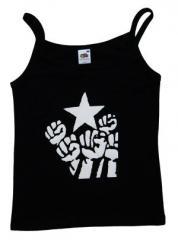 """Zum Top / Trägershirt """"Fist and Star"""" für 12,00 € gehen."""