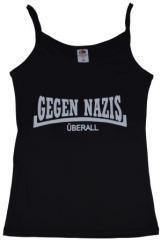 """Zum Top / Trägershirt """"Gegen Nazis Überall"""" für 12,00 € gehen."""