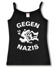 """Zum Top / Trägershirt """"Gegen Nazis"""" für 12,00 € gehen."""