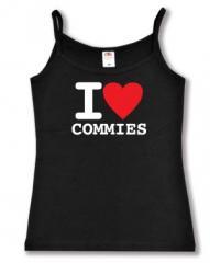 """Zum Top / Trägershirt """"I love commies"""" für 14,50 € gehen."""