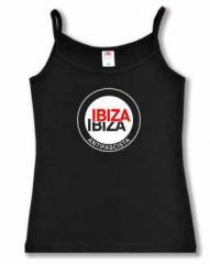"""Zum Top / Trägershirt """"Ibiza Ibiza Antifascista (Schrift)"""" für 14,50 € gehen."""
