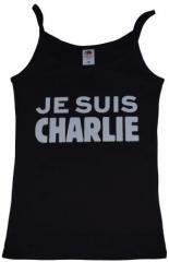 """Zum Top / Trägershirt """"Je suis Charlie"""" für 12,00 € gehen."""