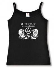 """Zum Trägershirt """"Libertad presos obreros!"""" für 11,70 € gehen."""