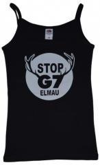 """Zum Trägershirt """"Stop G7 Elmau"""" für 14,13 € gehen."""