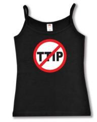 """Zum Top / Trägershirt """"Stop TTIP"""" für 14,50 € gehen."""