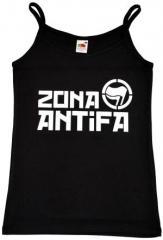 """Zum Top / Trägershirt """"Zona Antifa"""" für 12,00 € gehen."""