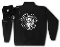 """Zum Sweat-Jacket """"Alerta Alerta Antifascista"""" für 27,00 € gehen."""