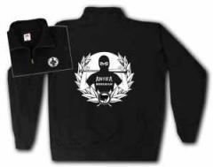 """Zum Sweat-Jacket """"Antifa Hooligan"""" für 30,00 € gehen."""