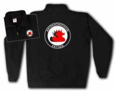 """Zum Sweat-Jacket """"Antifaschistische Aktion (Enten)"""" für 27,00 € gehen."""