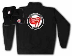 """Zum Sweat-Jacket """"Antifaschistische Aktion Linksjugend"""" für 29,24 € gehen."""