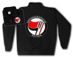 """Zum Sweat-Jacket """"Antifaschistische Aktion - linksjugend [´solid]"""" für 30,00 € gehen."""