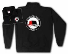 """Zum Sweat-Jacket """"Antifaschistische Aktion (Notebooks)"""" für 28,27 € gehen."""