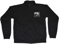 """Zum Sweat-Jacket """"Black Block Punk Rock"""" für 27,00 € gehen."""
