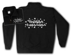 """Zum Sweat-Jacket """"Fantastisch Antifaschistisch (weiß)"""" für 27,00 € gehen."""
