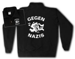 """Zum Sweat-Jacket """"Gegen Nazis"""" für 26,32 € gehen."""