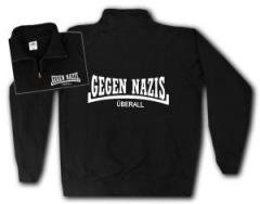 """Zum Sweat-Jacket """"Gegen Nazis Überall"""" für 27,00 € gehen."""