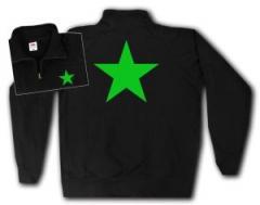"""Zum Sweat-Jacket """"Grüner Stern"""" für 27,00 € gehen."""