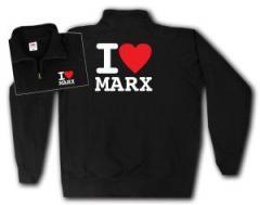 """Zum Sweat-Jacket """"I love Marx"""" für 27,00 € gehen."""