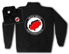 """Zum Sweat-Jacket """"Ibiza Ibiza Antifascista"""" für 26,32 € gehen."""