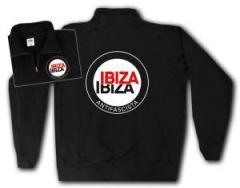 """Zum Sweat-Jacket """"Ibiza Ibiza Antifascista (Schrift)"""" für 26,32 € gehen."""