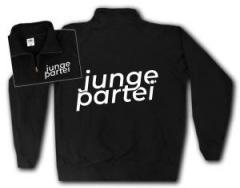 """Zum Sweat-Jacket """"Junge Partei"""" für 29,00 € gehen."""