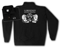 """Zum Sweat-Jacket """"Libertad presos obreros!"""" für 26,32 € gehen."""