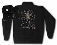 """Zum Sweat-Jacket """"Niki de Saint Phalle Linksjugend"""" für 30,00 € gehen."""