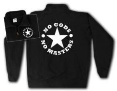 """Zum Sweat-Jacket """"No Gods No Masters"""" für 26,32 € gehen."""