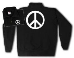 """Zum Sweat-Jacket """"Peacezeichen"""" für 27,00 € gehen."""