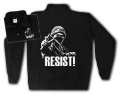 """Zum Sweat-Jacket """"Resist!"""" für 27,00 € gehen."""