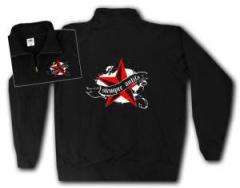 """Zum Sweat-Jacket """"Siempre Antifascista"""" für 27,00 € gehen."""