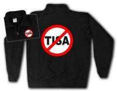 """Zum Sweat-Jacket """"Stop TISA"""" für 26,32 € gehen."""