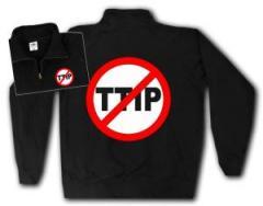 """Zum Sweat-Jacket """"Stop TTIP"""" für 27,00 € gehen."""