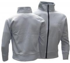"""Zum Sweat-Jacket """"Sweatjacke bonded - grey"""" für 59,90 € gehen."""