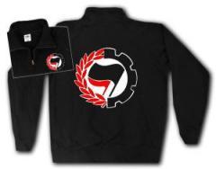 """Zum Sweat-Jacket """"Working Class Antifa"""" für 27,00 € gehen."""