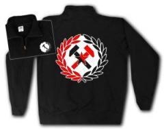 """Zum Sweat-Jacket """"Working Class Hammer rot/schwarz"""" für 27,00 € gehen."""