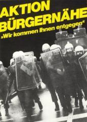 """Zur Postkarte """"Aktion Bürgernähe"""" für 1,00 € gehen."""