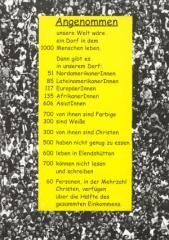 """Zur Postkarte """"Angenommen"""" für 1,00 € gehen."""