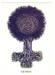 """Zur Postkarte """"Die Baum"""" für 1,00 € gehen."""