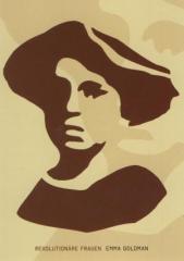 """Zur Postkarte """"Emma Goldman"""" für 1,00 € gehen."""