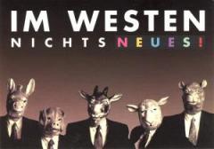 """Zur Postkarte """"Im Westen nichts Neues!"""" für 1,00 € gehen."""