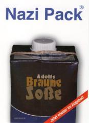 """Zur Postkarte """"Nazi Pack"""" für 1,00 € gehen."""