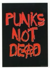 """Zur Postkarte """"Punk's not dead"""" für 1,00 € gehen."""