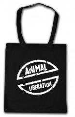 """Zur Baumwoll-Tragetasche """"Animal Liberation"""" für 4,00 € gehen."""