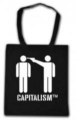 """Zur Baumwoll-Tragetasche """"Capitalism [tm]"""" für 3,90 € gehen."""