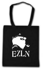 """Zur Baumwoll-Tragetasche """"EZLN (Marco)"""" für 3,90 € gehen."""