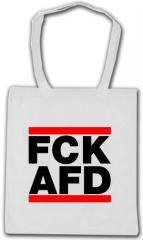 """Zur Baumwoll-Tragetasche """"FCK AFD"""" für 3,90 € gehen."""
